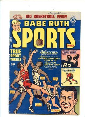 Babe Ruth Sports #11 (1951) Harvey Comics VG