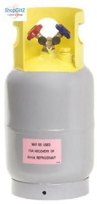 Reusable Refrigerant Recovery Cylinder Tank 30LB Storage Transport Recovered Gas