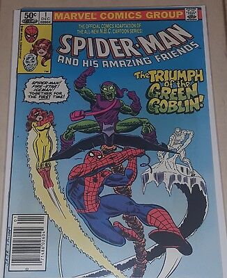 Spider-Man and His Amazing Friends 1 1981 Marvel Comics