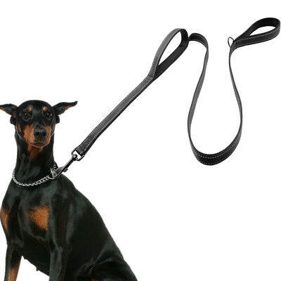 Dual Handle Dog Leash Pet Traffic Lead Control for Large Dogs Multifunction Lead