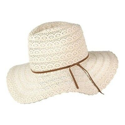 9ec4523a63363 PETER GRIMM WOMEN S Lace Wide Brim Hat -  23.95