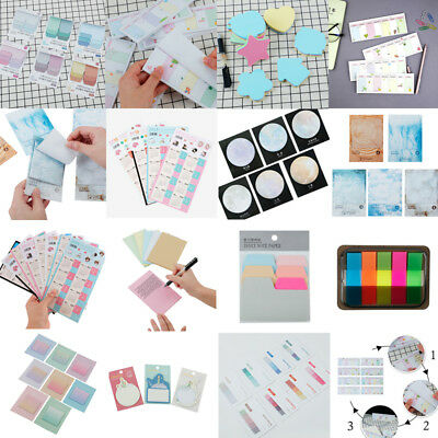 57 Style Sticky Notes Name Lable Stiker Bookmark Marker Memo Index Tab