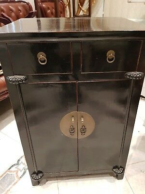Chinese Asian oriental cabinet with drawers unique piece MAKE US AN OFFER