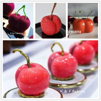 Obst Silikonform Birne Kirsche Apfel Erdbeere Kuchenform Puddingform Backform Fragrant Flavor In