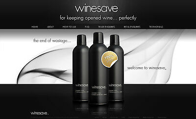 Winesave Sommeliers' Choice Wine Preserver Bar Accessories Twin Pack