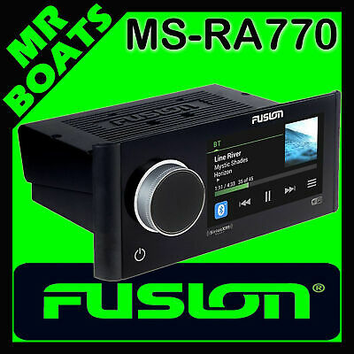 FUSION APOLLO STEREO Marine Boat Entertainment System WiFi Radio RA770 FREE POST