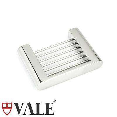 Polished Stainless Steel Soap Basket Dish Tray Holder Bathroom Wall Mounted