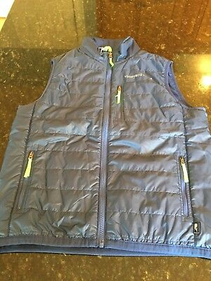 Vineyard Vines Boys Mountain Weekend Vest, Size L (16). New With Tags.