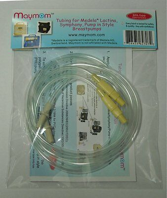 Maymom Tubing for Medela Lactina, Symphony and Pump in Style Breastpumps. 2pc/pk