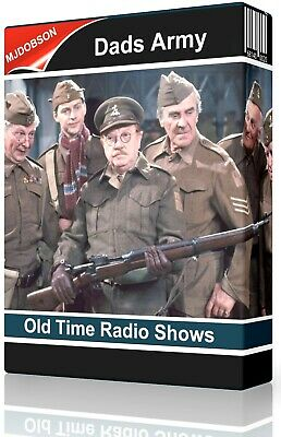 Old Radio Shows DAD'S ARMY Complete Collection on MP 3 CD