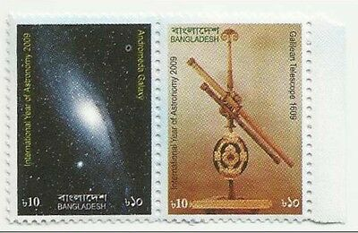 Bangladesh Mnh 2009 International Year Of Astronomy Galilean Telescope
