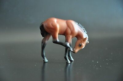 Breyer Scratching Foal (Red Bay) Retired - 5980 - From Show Stoppers (2012-2014)
