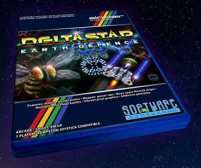 DeltaStar Earth Defence™ (ZX Spectrum Next) Physical Original Collectors Edition