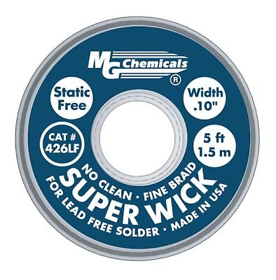 MG Chemicals Superwick #4 Copper (Lead Free)2.50mm