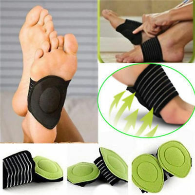 Pair Cushioned Arch Foot Support Plantar Fasciitis Orthotic 1 And 2 Pair CA SELL