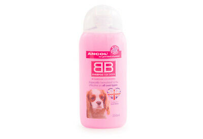 2  X Ancol Luxury Dog Puppy Shampoo Conditioner BB 200ml
