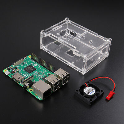Raspberry Pi 3 Model B 1GB RAM Quad Core 1.2GHz CPU Starter Kit Hot Sale