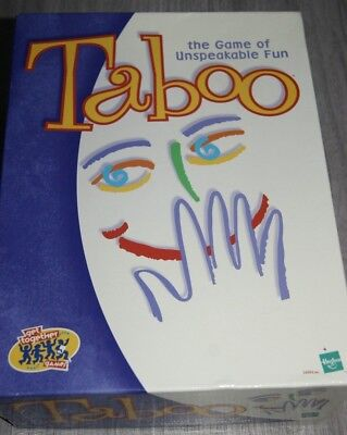 TABOO CARD GAME by Hasbro Gaming - £12 99 | PicClick UK