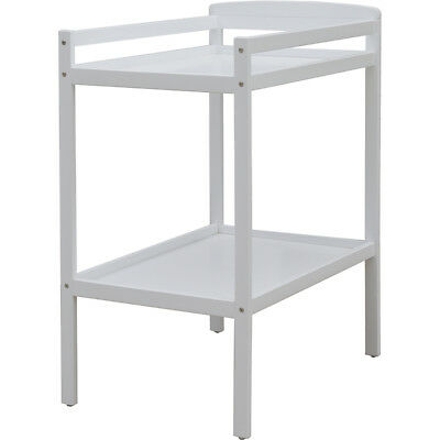 Childcare Bristol Two Tier Baby Change Table White