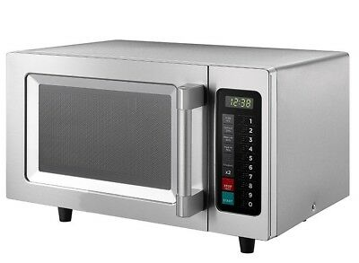 Commercial Microwave Oven 1000W Stainless Steel Catering Program Auto - SALE
