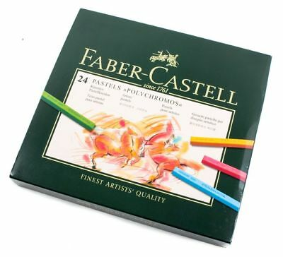 Faber-Castell 24 Pastels Polychromos 128524 (B-Ware)
