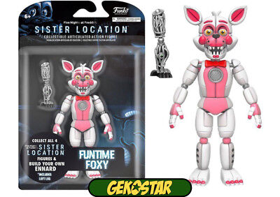 Funtime Foxy - Sister Location Five Nights at Freddys Funko Action Figure