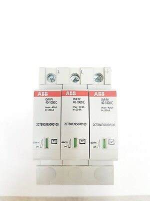 ABB Surge Protection for Photovoltaics up to 1000VDC