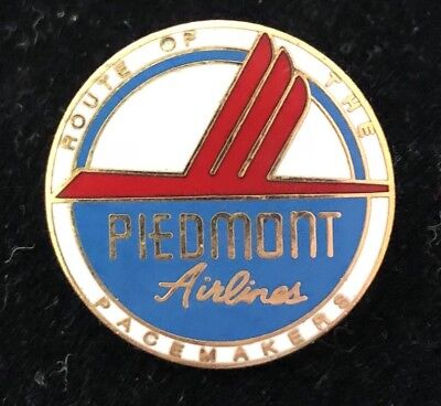 PIEDMONT Airlines Logo Seal Lapel or Hat Pin