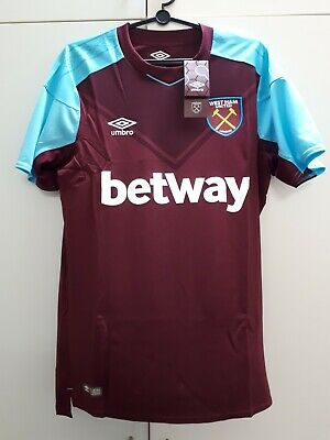 39ee1dd0d WEST HAM UNITED FC 1966 Home Jersey Score Draw Mens Retro Football ...