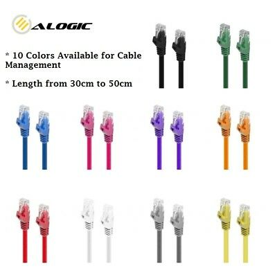 Alogic CAT6 Network Cable Lifetime Warranty 10 Colors Available from 0.3m to 50m