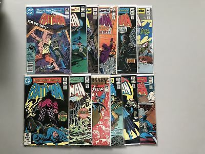 Lot of 12 Detective Comics (1937 1st Series) from #499-532 FN-VF Very Fine