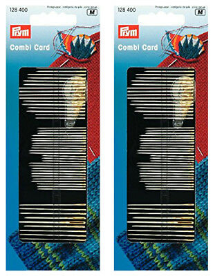 Prym Assorted Sewing Needles Silver - Double Pack