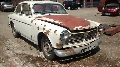 1970 VOLVO AMAZON 131 LHD COUPE project barn find