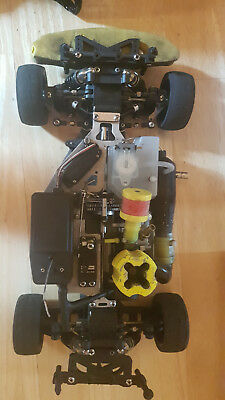 RC Reely P 190 4WD Chassis