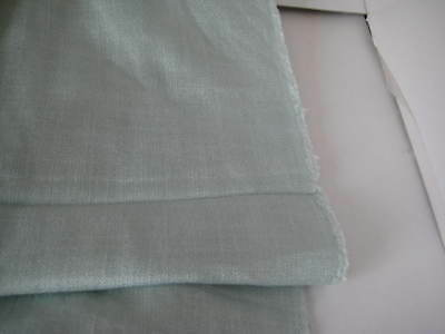 PER METRE LAURA ASHLEY HOLDEN DOVE GREY 100/% COTTON CURTAIN FABRIC MATERIAL