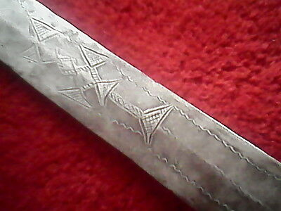 """Beautiful dagger, African authentic 16.5"""" long"""