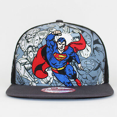 New Era 9FIFTY Superman Snapback Hero Break Out Baseball Cap
