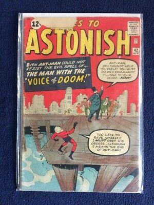 Tales to Astonish # 42 Ant Man Marvel Comics 1963 Silver Age