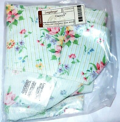 Longaberger LARGE CROCUS Easter Basket SMALL MIXED BOUQUET LINER - NEW IN BAG
