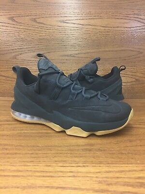 c290295ee8b ... france nike lebron 13 low premium black gum mens basketball shoes size  10.5 brand new d093f