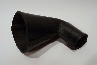 Black Berliner Victor Talking Machine Zonophone Phonograph Leather Horn Elbow