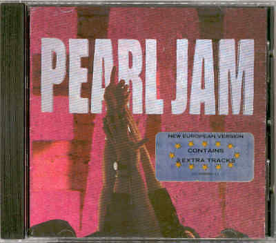 "PEARL JAM ""Ten"" CD (Mother Love Bone, Eddie Vedder, Temple Of The Dog)"