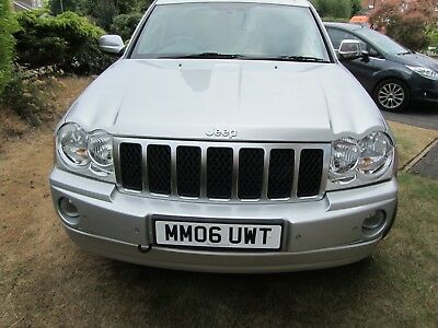 2006 Jeep Grand Cherokee Overland, 3.0ltr CRD, Automatic, 69,000k miles,SUV,4x4.