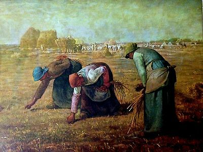 The Gleaners (Mini Print) 1857 By Jean-Francois Millet