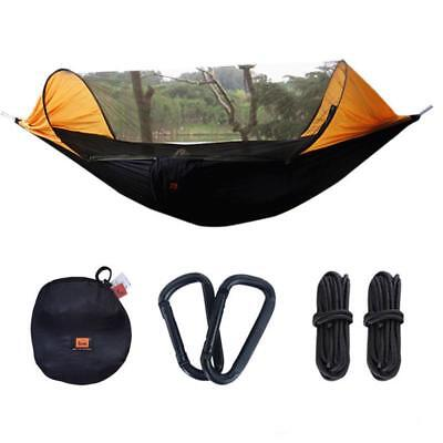 Portable Hammock Camping Survivor Ultra Light Parachute With Mosquito Net Hiking