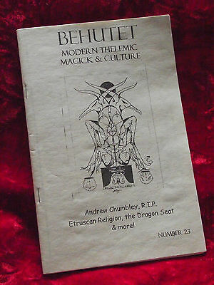 BEHUTET modern Thelemic magick and culture No 23 Fall 2004 Autumnal Equinox #21