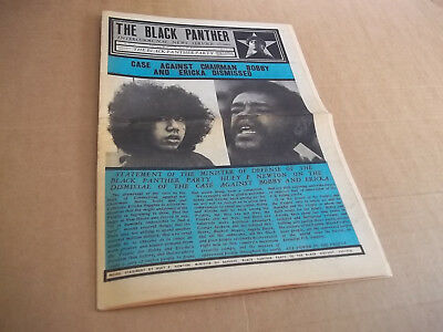 Black Panther newspaper  May 29, 1971  original  Huey Newton VG+