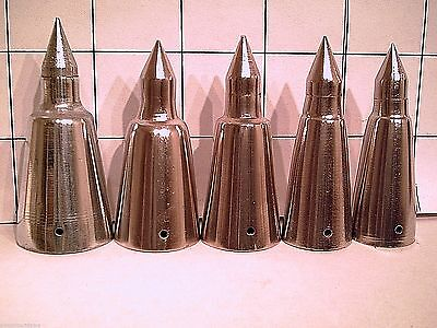 steel alpine spike tip for a walking stick or cane 5 sizes to pick from U pick 1