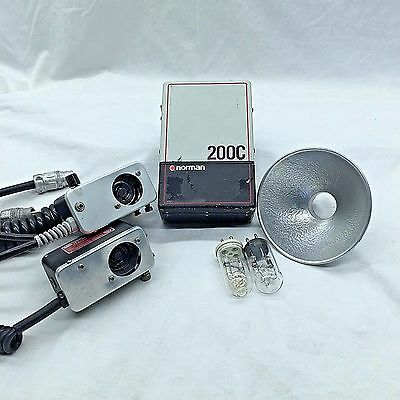 Norman 200C | Flash Kit + Lamps and Power Supply | Pre-Owned