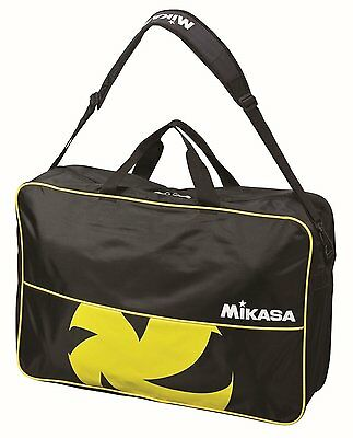 Mikasa JAPAN Volleyball Ball Shoulder Bag Case for 6 Balls Black VL6C-BKY